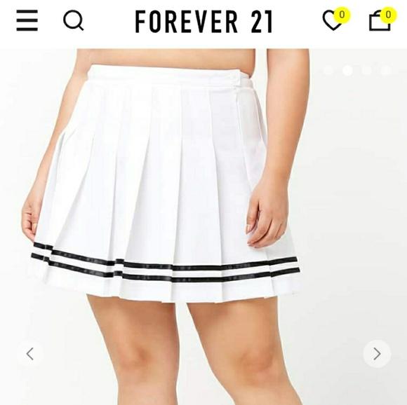 7a76647fc Forever 21 Skirts   Plus Size Tennis Skirt   Poshmark